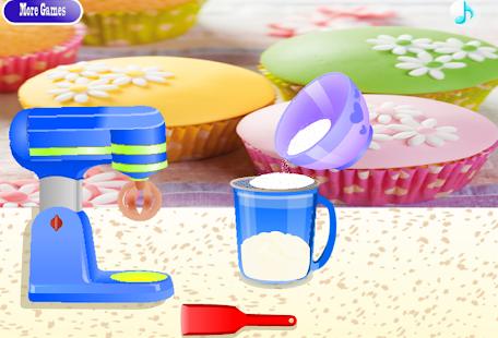 Juegos De Chicas De Cocinar   Juegos Chicas Cupcake Juegos De Cocina Aplicaciones De Android
