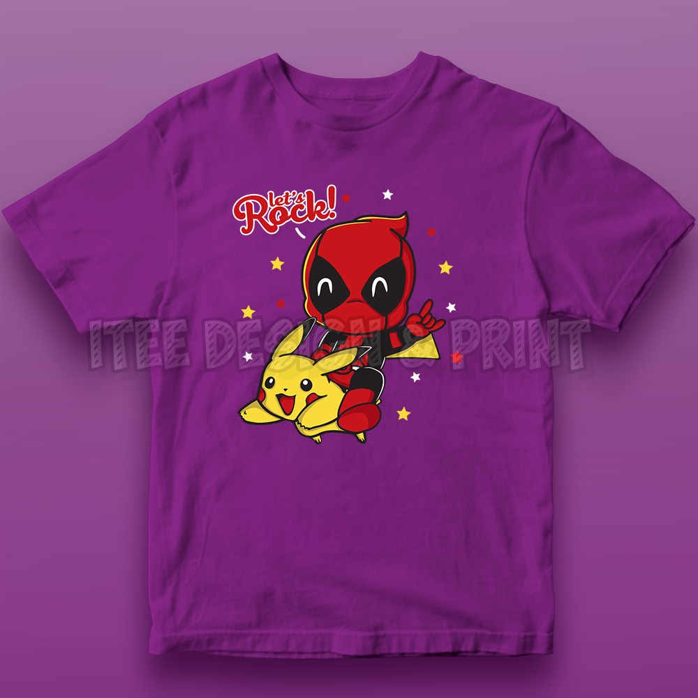 Pikachu Deadpool 10