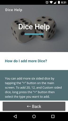 Dice Screenshot