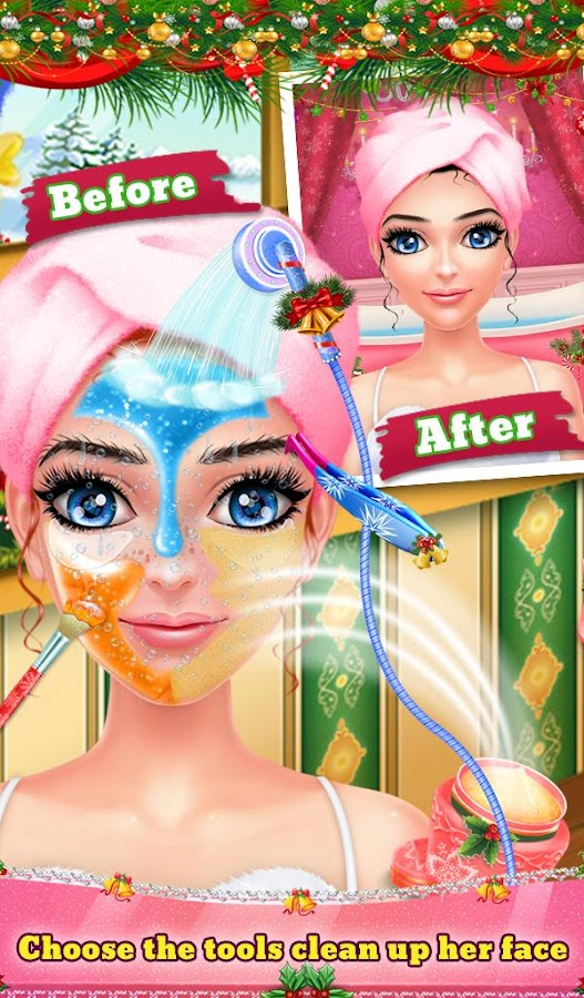 Christmas Salon Girl Makeover- screenshot