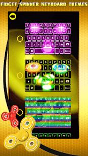 Fidget Spinner Keyboard Themes - náhled