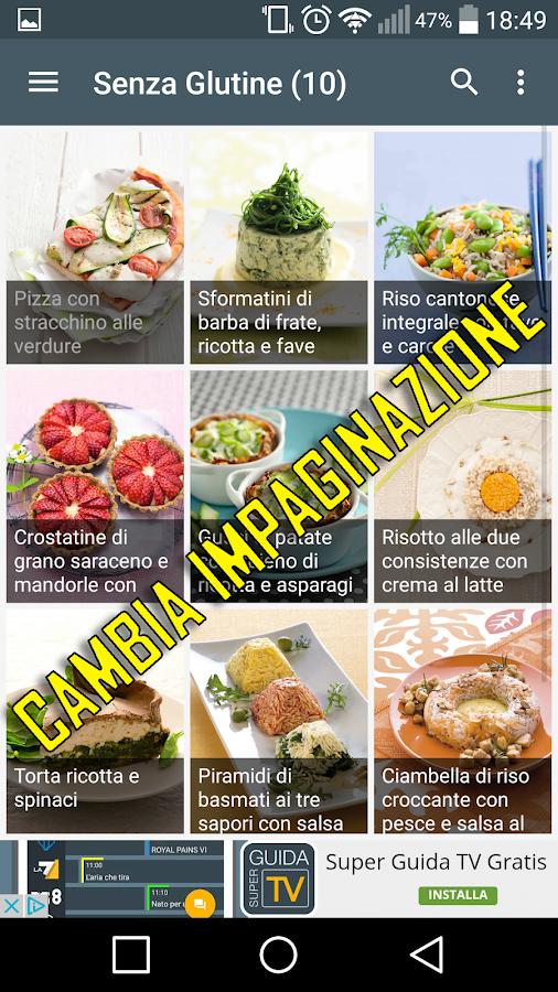 ricette di cucina gratis screenshot