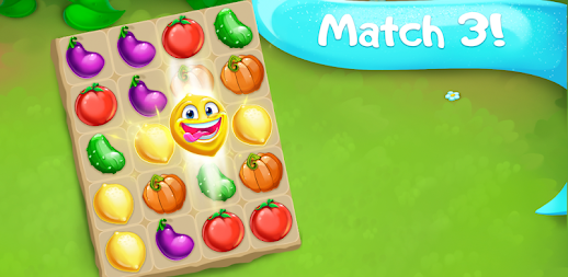 Funny Farm match 3 Puzzle game! APK