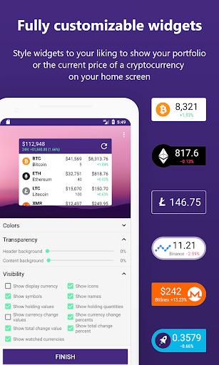 Bitrift - Cryptocurrency Portfolio & Widgets cheat hacks