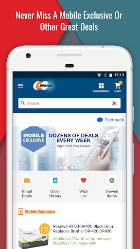 Newegg Mobile screenshot 1