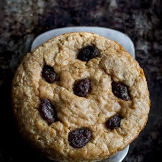 Deep Dish Oatmeal Raisin Breakfast Cookies.