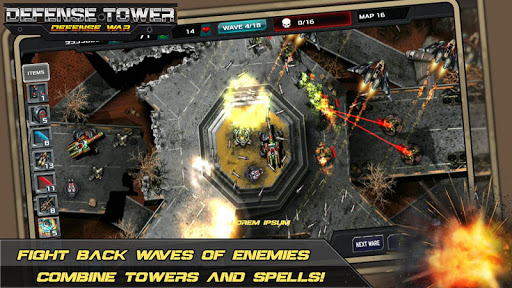 Tower Defense - Defense Zone 0.3 APK MOD screenshots 2