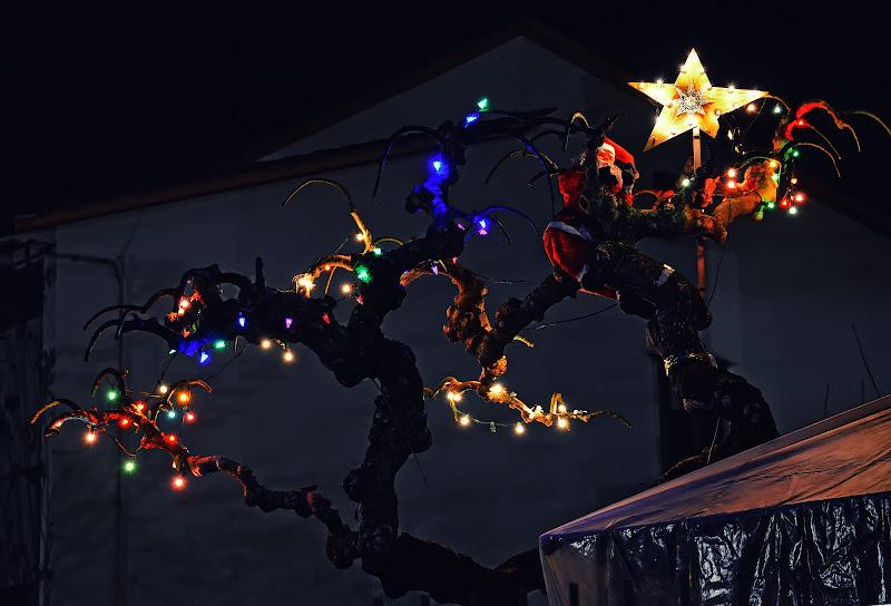 Babbo Natale sull'albero di Patrix