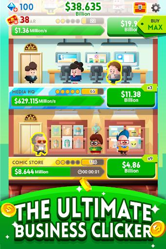 Cash, Inc. Money Clicker Game & Business Adventure  mod screenshots 2