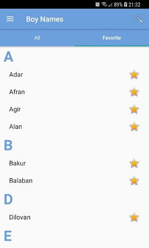 Kurdish First Names 1.0.0.3 Screenshots 4