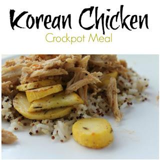 Korean Chicken.