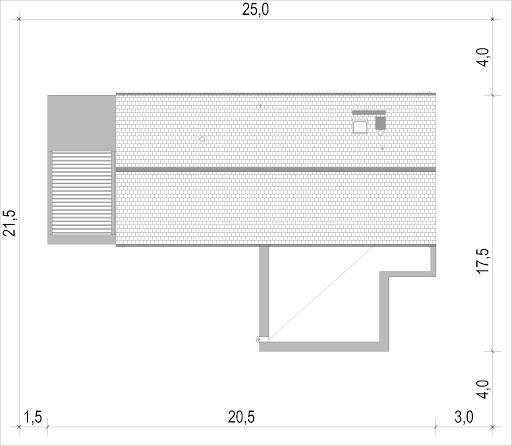 House X14 - Sytuacja