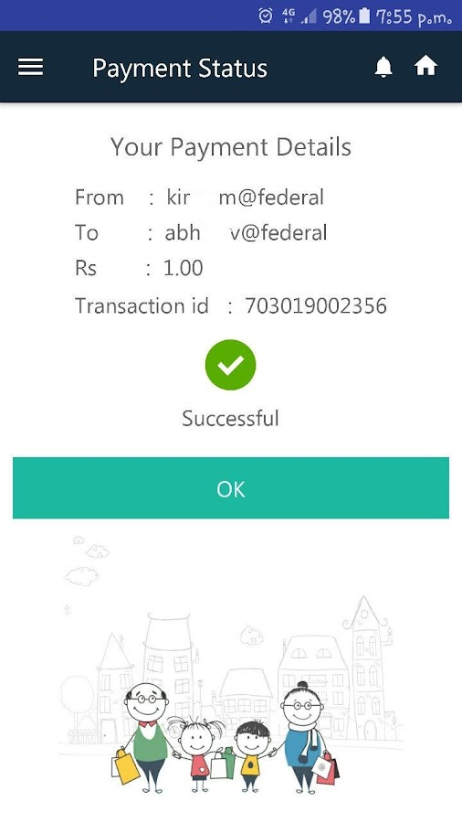 BHIM LOTZA UPI PAYMENTS APP- screenshot