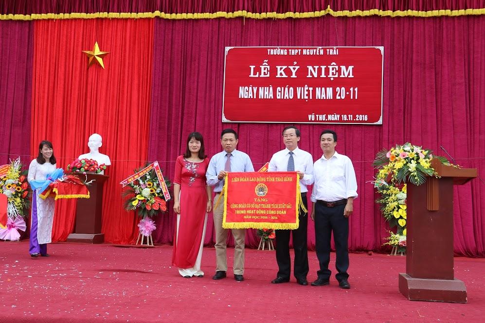 Kỷ niệm 34 năm ngày nhà giáo Việt Nam 20-11