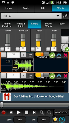 AudioDroid : Audio Mix Studio 2.8.3 screenshots 8