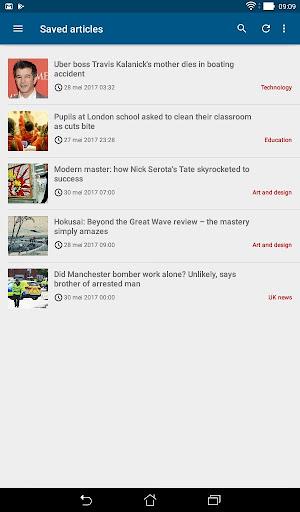Guardian Reader screenshot 12