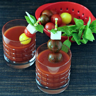 Spicy Caprese Cocktail