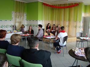 """Photo: Występ grupy teatralnej """"A TO MY"""" w Gimnazjum nr 1 w Płońsku [17.02.2015]"""