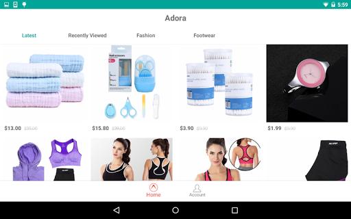 Adora - Personalized Shopping  screenshots 4