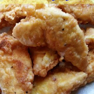 Fried Chicken Tenders.