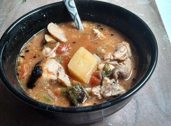 Flame's Four Bean Neck Bone Soup Recipe