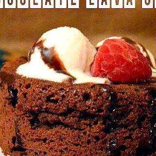 Chocolate Lava Cake.