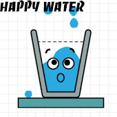Happy Water Draw Line icon