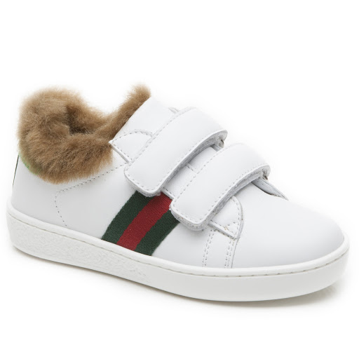 Primary image of Gucci Faux Fur Toddler Trainer