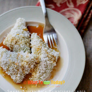 SWEET STICKY RICE DUMPLINGS / LUPIS (about 30-40 lupis)