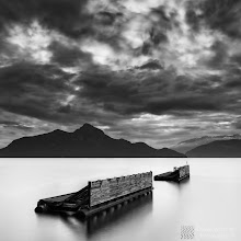 """Photo: """"Alignment"""" - http://www.createwithlightphotography.com  Now also on 500px: http://500px.com/photo/5824671  This is an 30 second exposure of the old ferry docks at Porteau Cove in Howe Sound, British Columbia.  I spent a grand day out in February with +Gavin Dunbar , showing him around the place I love so much. It was a lot of fun and so interesting to spend time with another long exposure photographer and get their view of the world...thanks again Gav!!  I used a 10 stop ND filter, plus a 3 stop hard grad ND filter to get the effect I was after.  Check out the larger version of this image on my website: http://tinyurl.com/747yw6p  The clouds finally played ball and gave me the balance that I was after. The exposure couldn't be any longer than 30 seconds, as the ferry docks are prone to movement. This ended up being thee only image where the docks remained still :-) Patience, after all is a key element for long exposure photography.  This is my contribution to the #LongExposureThursday theme, kindly curated by +Francesco Gola and +Le Quoc , the #ThirstyThursday theme, kindly curated by +Giuseppe Basile and +Mark Esguerra , the #FineArtPls theme, curated by the lovely +Marina Chen and +Fineao Fang , the #BWFineArtLE theme, curated by the amazing Mr +Joel Tjintjelaar and +Black and White Fine Art Photography Gallery , #InMotionThursday curated by +Scott Thomas , #SquaresAreSassy curated by the legendary +Nathan Wirth , my awesome muse and supporter +dene' miles and finally the #PlusPhotoExtract theme, run by the awesome +Jarek Klimek   All thoughts and comments welcome.  Please visit my website to view more of my images: http://www.createwithlightphotography.com  #PlusPhotoExtract #GrantMurray #CreateWithLightPhotography #BWFineArtLE #FineArtPls"""