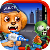 Pet Police Hero: Zombie Rescue