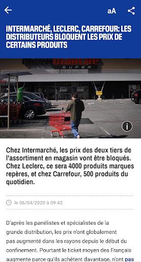 BFMTV - Actualitu00e9s France et monde & alertes info 4.2.5 Screenshots 3