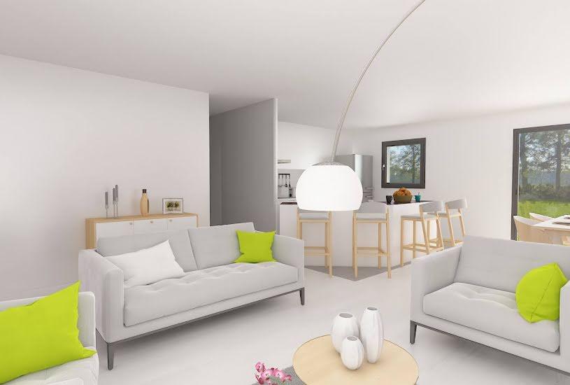 Vente Terrain + Maison - Terrain : 1110m² - Maison : 84m² à Caumont (27310)