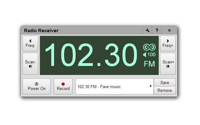 Tuning radio icon, realistic style stock vector illustration of.