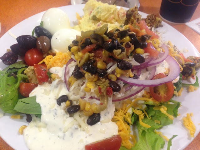 Yummmm Everything you might want on a salad is here