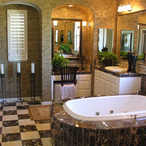 バスルームの装飾のアイデア 生活 App LOGO-硬是要APP