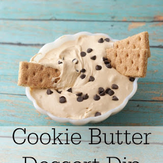 Cookie Butter Dessert Dip