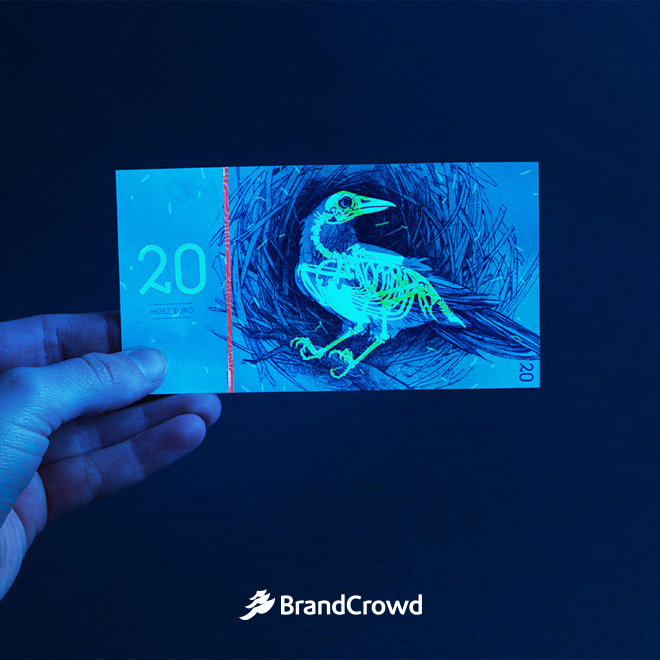 the-image-shows-the-bill-under-special-light-that-makes-the-illustration-glow