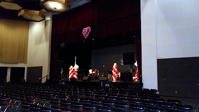 Photo: Beautiful Stage Balloon Decorations 