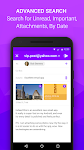 screenshot of Email App for Android