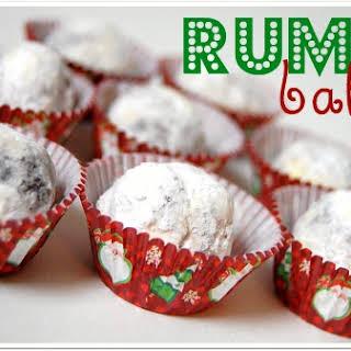 Rum Balls.