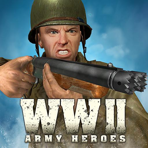 Baixar World War 2 Frontline Heroes: WW2 Commando Shooter para Android