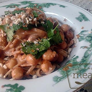 Thai Chickpea Pasta