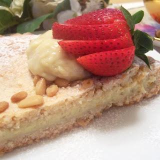 Torta Della Nonna (Grandma's Dairy-Free Custard Pie)