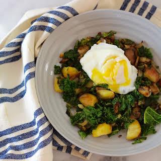 Kale & Eggs.