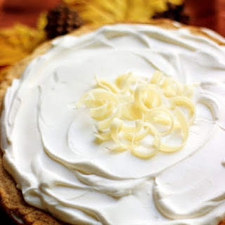 White Chocolate Pumpkin Cream Pie