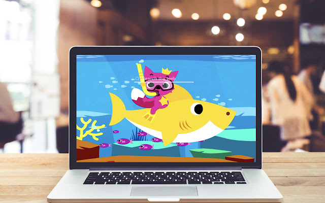 Baby Shark HD Wallpapers Music Theme