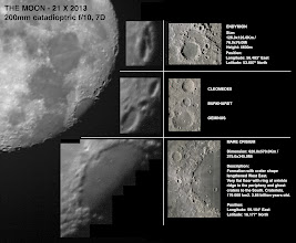 Photo: THE MOON - Eastern limb  Eastern limb features shown both in oblique angles and perpendicular shots.