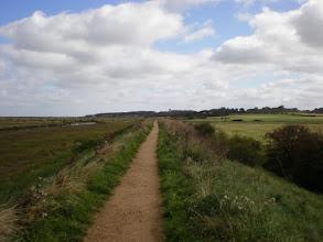 Photo: Norfolk Coast Path - From Warham to Wiveton - Approaching Blakney