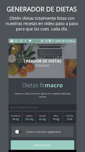 Contador de Calorías Fitmacro screenshot 1